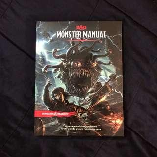 Dungeons and Dragons Monster Manual 5e