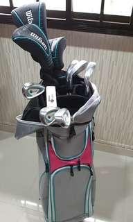 Preloved Wilson Hope Woman Golf Set