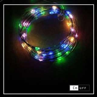 Colorful fairylights