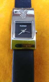 Playboy stainless steel female watch