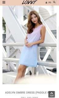 Lovet Adelyn Ombre Dress (Paddle Pop)