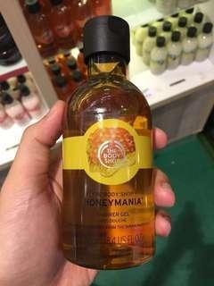 SALE! The body shop shower gel / sabun honey mania
