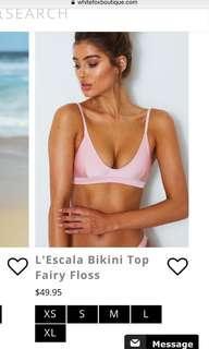Whitefox bikini top pink