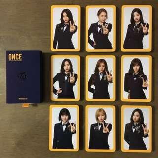 SHARE/FULL SET TWICE Fan Club Goods 2nd Term Photocard  OFFICIAL
