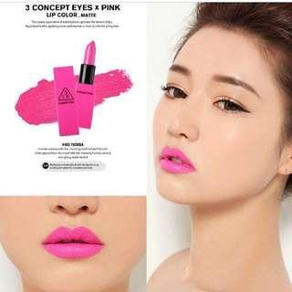 3CE lip color #402 唇膏