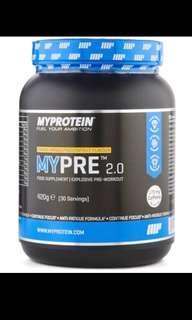 Myprotein Mypre™ 2.0 Pre Workout in Orange Mango Passionfruit