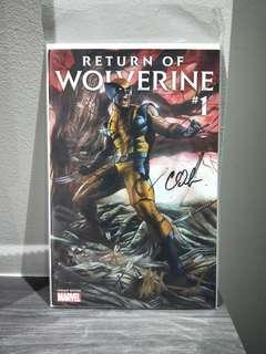 Return of Wolverine #1 Granov Variant 2X Signed