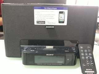 Sony Audio Dock- Radio Clock