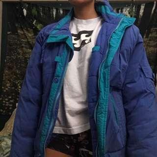 retro winter jacket