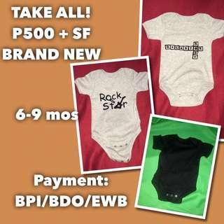 SALE!! Little Rockstar Baby Onesies OOTD