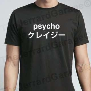 🚚 Japanese Psycho T-Shirt