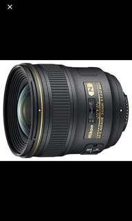 Nikon AF-S 24mm F1.4G