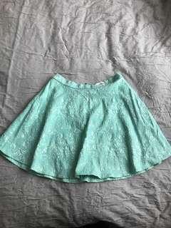 Size 10 light blue skirt