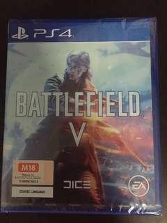 PS4 Game Battlefield V (New)