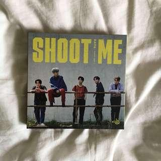 WTS day6 shoot me trigger ver album