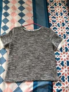 zara 短top 100包郵 s size length47cm waist39cm