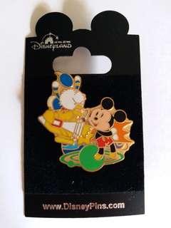 Disney Pin 廸士尼徽章 Mickey Donald (包郵)