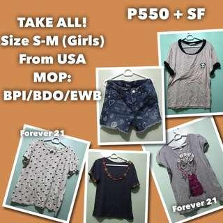 Take all OOTD for your dalagita Girls Teens Shirt and Shorts