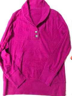 Overrun (no tags) cotton long sleeve shirt
