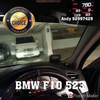 BMW F10 523 Lufi X1 Revolution OBD OBD2 Meter Gauge