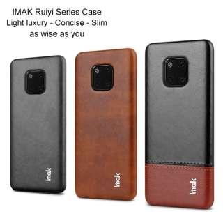 🚚 Huawei Mate 20 Pro Ruyi Leather Casing Full Coverage Case