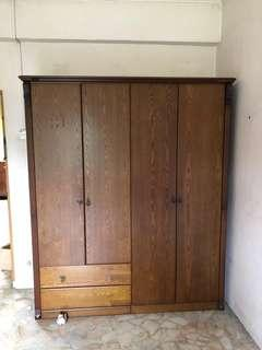 Set of three old traditional Cupboard