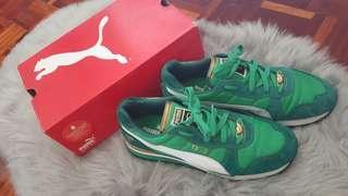 Puma Emerald green limited edition