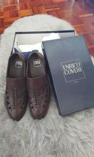 Enrico coveri italy leather shoes