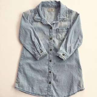 NEXT UK Denim Top/Dress