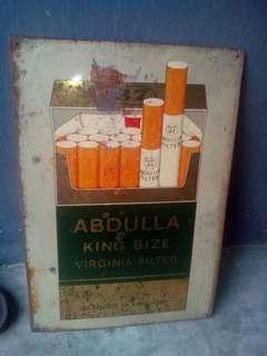 Singboard rokok Abdullah