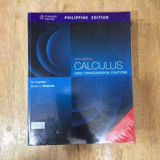CENGAGE Calculus by Ron Larson & Bruce H. Edwards