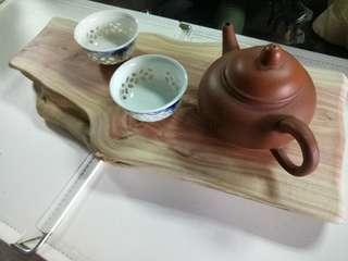 🚚 龍柏木 長型木座 木台 花架  乾泡茶