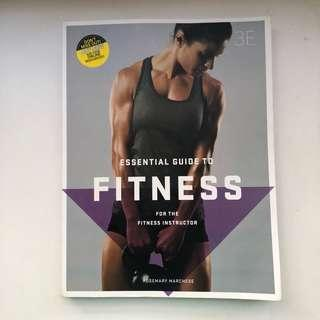 Certificate 3 in fitness textbook