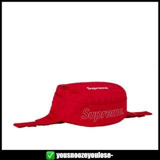 🚚 🔴INSTOCK🔴 SUPREME FW18 RED WAIST BAG