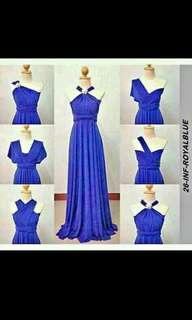 Royal Blue Infinity Gown