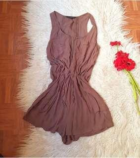 French Connection Nude Romper
