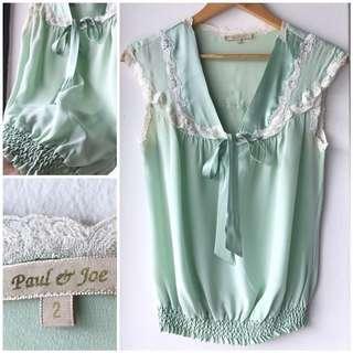 Paul & Joe silk blouse