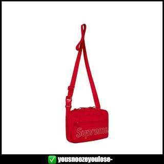 🚚 🔴INSTOCK🔴 SUPREME FW18 RED SHOULDER BAG