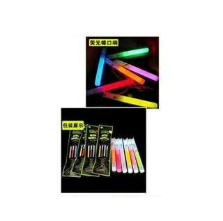 Glow in the dark whistle/pito 6 inch