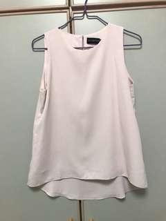TCL Baby Pink Sleeveless Top S