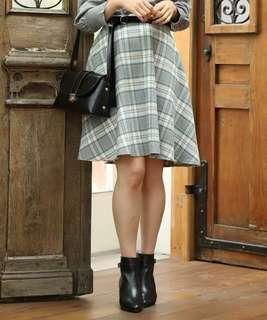 日本購入全新格仔裙