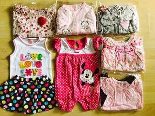 🚚 6m Baby girls clothing clearance