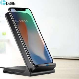 DCAE Qi Wireless Charger Docking Dock Station
