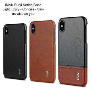 🚚 Iphone Xs Max Leather Case Full Coverage Casing Premium