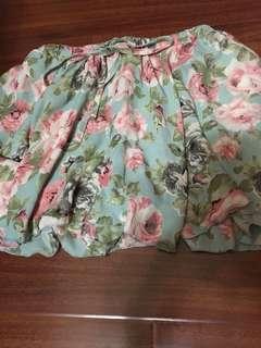50雪紡褲裙