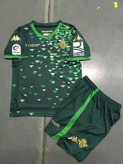 Real Betis 18-19 Kids Away Kit
