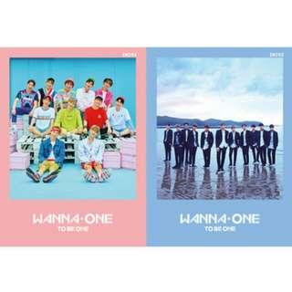 (PRE-ORDER) Wanna One Albums