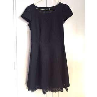 Black doll laced Dress