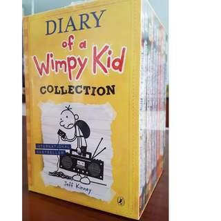 Wimpy Kid collection boxed set - 10 books (Brand New)