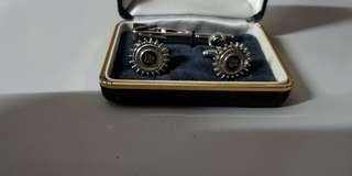 Rolls Royce White Gold cuff link collection